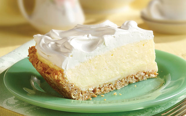 This coconut cream pie recipe will give you piegasms