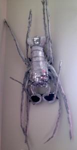 Lobster headpiece by Renee Nicole Gray