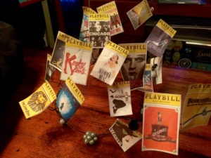 Playbill crown by Renee Nicole Gray