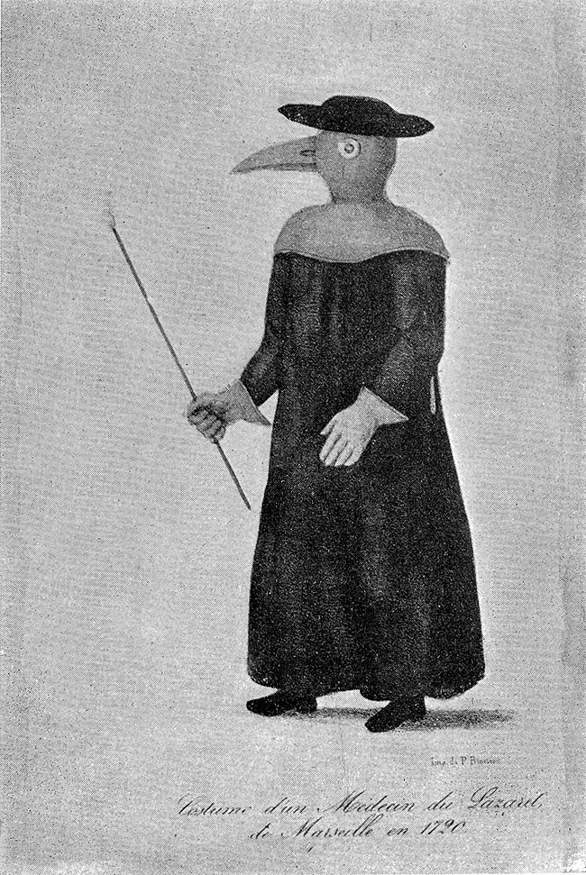 The history of 17th century plague doctor costumes
